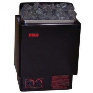 Электрическая печь для бани и сауны Helo Cup 60 ST 6,0 кВт, черный, пульт встроен.