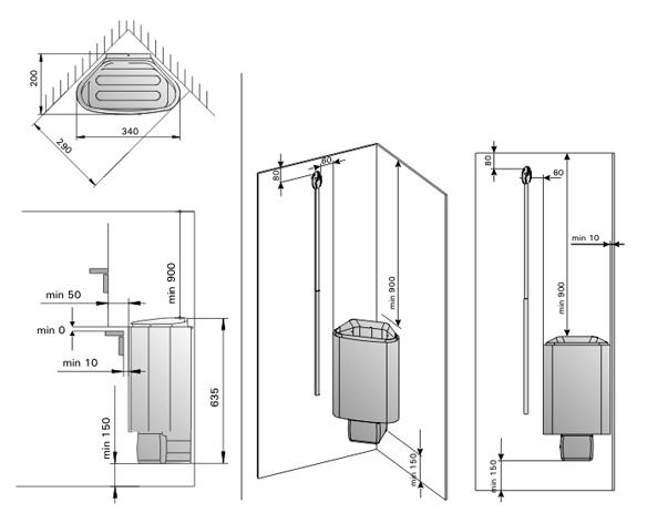 Эта печь электрическая для сауны отлично подходит большим любителям попариться, ценящим простоту в обращении и добрую.
